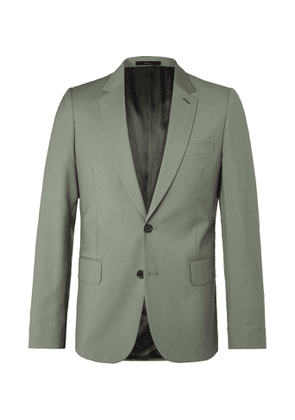 Paul Smith - Slim-Fit Wool and Mohair-Blend Suit Jacket - Men - Green