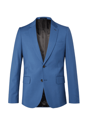 Paul Smith - Slim-Fit Wool and Mohair-Blend Suit Jacket - Men - Blue