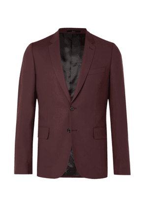 Paul Smith - Soho Slim-Fit Wool Suit Jacket - Men - Burgundy