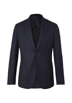 Paul Smith - Slim-Fit Wool-Hopsack Blazer - Men - Blue