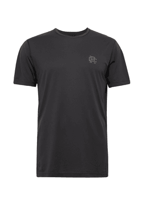 Reigning Champ - Logo-Print Deltapeak 90 Stretch-Jersey T-Shirt - Men - Black