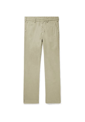 Save Khaki United - Slim-Fit Garment-Dyed Cotton-Twill Trousers - Men - Neutrals