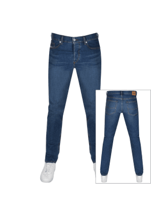 Diesel D Luster Slim Fit Jeans Blue