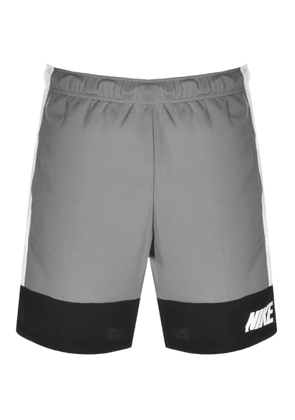 Nike Training Dry Logo Shorts Grey
