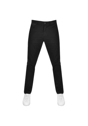 Calvin Klein Slim Fit Chino Trousers Black