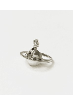 Sterling Silver Solid Orb Ring
