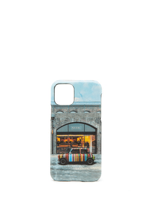 Paul Smith - King's Cross-print Leather Iphone® 11 Pro Case - Mens - Multi