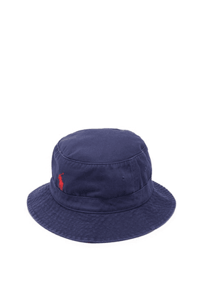 Polo Ralph Lauren - Loft Logo-embroidered Twill Bucket Hat - Mens - Navy