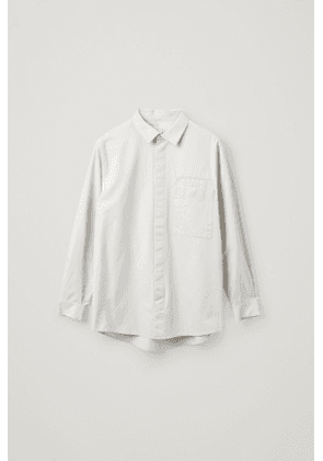 RELAXED-FIT ORGANIC COTTON SHIRT