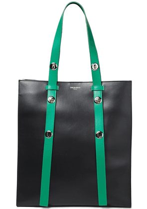 Emilio Pucci Color-block Leather Tote Woman Black Size --