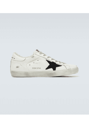 Superstar shearling sneakers