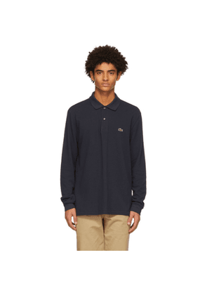 Lacoste Navy L.12.12 Long Sleeve Polo