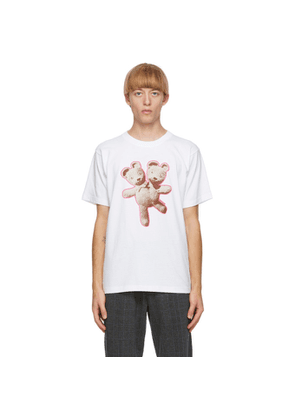 Marc Jacobs White Heaven by Marc Jacobs Double-Headed Teddy T-Shirt