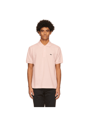 Lacoste Pink L.12.12 Polo