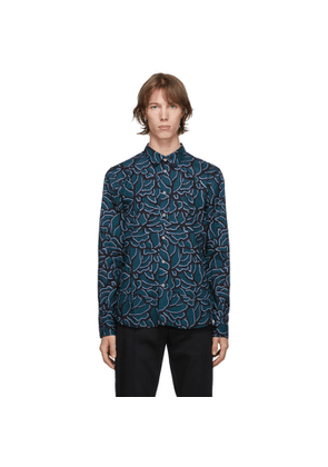 PS by Paul Smith Green and Black Tailored Fit Shirt