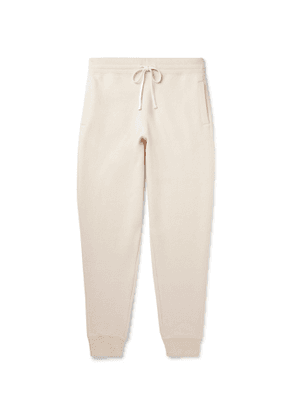TOM FORD - Tapered Cashmere-Blend Sweatpants - Men - Neutrals