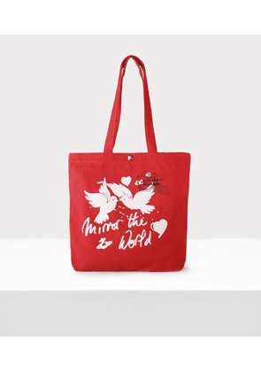10Th Anniversary Tote Bag Red