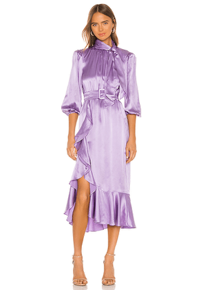 Cinq a Sept Bella Dress in Purple. Size 0,2,6.