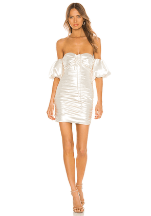 Cinq a Sept Tati Dress in White. Size 4,6,10.