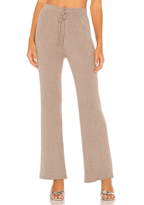 Lovers + Friends Inca Pant in Grey. Size XL.