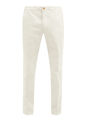 Altea - Dumbo Cotton-blend Twill Trousers - Mens - Ivory