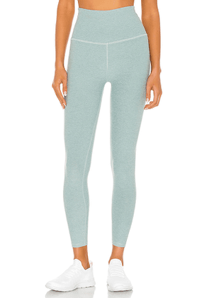 Beyond Yoga Spacedye Caught In The Midi High Waisted Legging in Green. Size S,M,L.