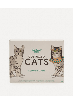Costumed Cats Memory Game Cards