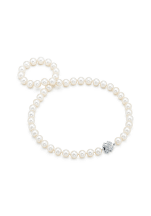 Tiffany Signature® Pearls necklace of pearls with 18ct white gold - Size 18 in