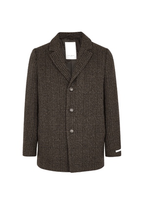 Les Deux Montgomery Checked Wool-blend Coat