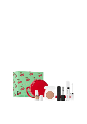 MARC JACOBS BEAUTY Oui Mon Cherry Full-Size Lip Oil And Mini Favourites Set With Bag