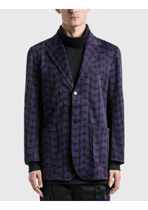 Needles Butterfly Jacquard Poly Jacket