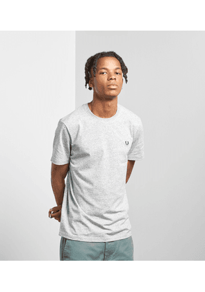 Fred Perry Crew Neck Short Sleeve T-Shirt, Grey Marl