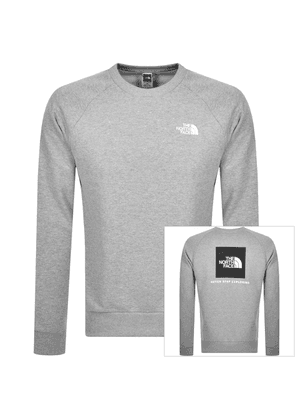 The North Face Raglan Redbox Sweatshirt Grey