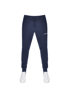 Columbia Logo Jogging Bottoms Navy