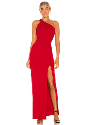 Lovers + Friends Evgenia Gown in Red. Size XS,S,M,L,XL.