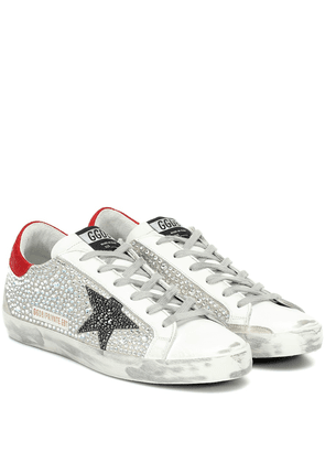 Exclusive to Mytheresa – Superstar embellished sneakers