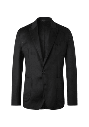Dolce & Gabbana - Unstructured Cashmere Blazer - Men - Black