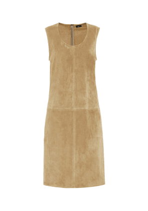 Patty suede shift dress