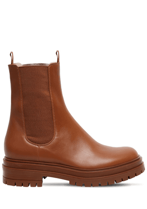 30mm Leather Chester Boots