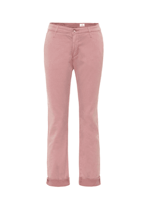 Caden Chino mid-rise straight jeans
