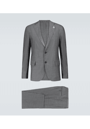 Travel suit with drawstring pants