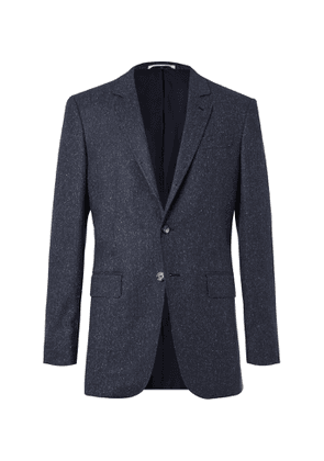 Gabriela Hearst - Damien Donegal Wool-Blend Blazer - Men - Blue