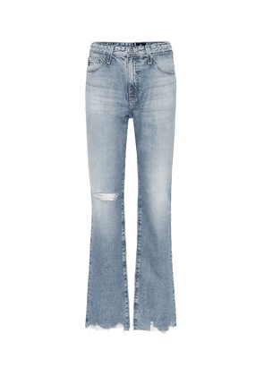 The Alexxis high-rise straight jeans