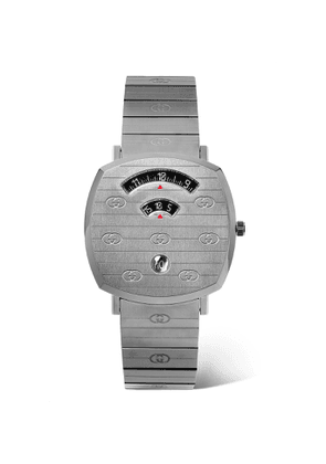 Gucci - Grip 38mm PVD-Coated Stainless Steel Watch - Men - Gray
