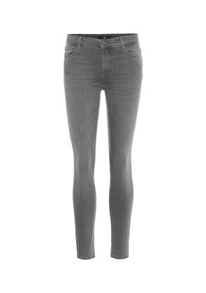 The Skinny high-rise jeans