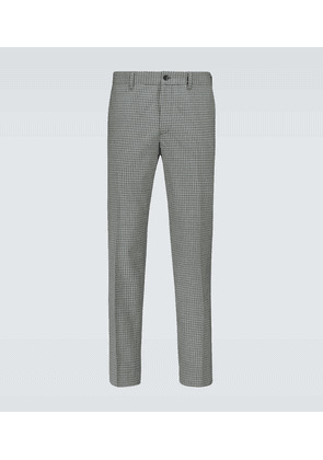 Checked tailored pants