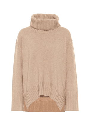 Deconstructed Look wool and cashmere sweater