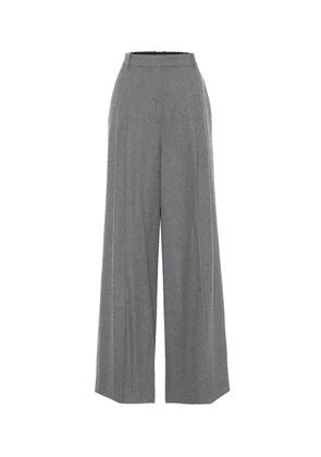 Tima wool-blend flannel pants