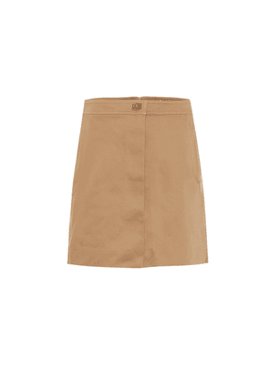 Cotton-gabardine shorts