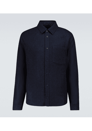 Loge Peak wool overshirt